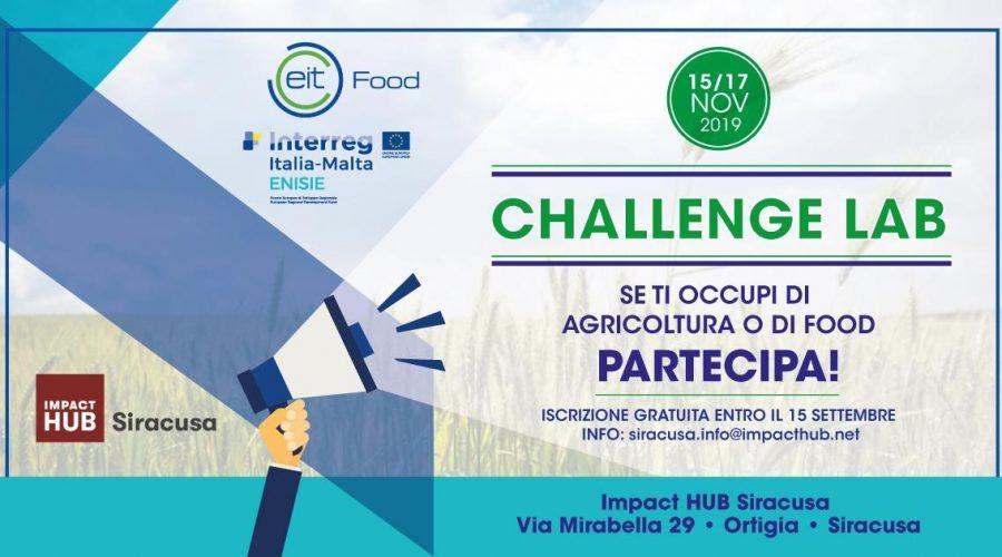 Challenge Lab EIT Food e le sfide per l' agricoltura in Sicilia. Sino al 15/9  iscrizioni gratuite