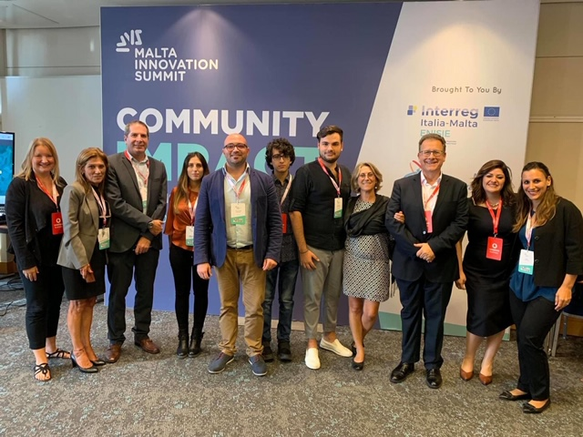 Enisie team at Malta innovation Summit